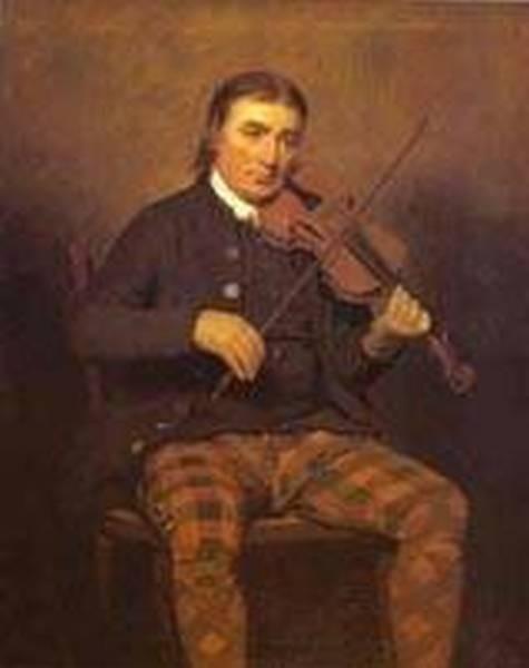 Portrait of neil gow 1793 xx edinburgh uk